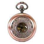 Victorian,Old West, Pocket Watches Gold Alloy Mechanical Watches |Antique, Vintage, Old Fashioned, Wedding, Theatrical, Reenacting Costume | Gifts for Him,Brassy Bits
