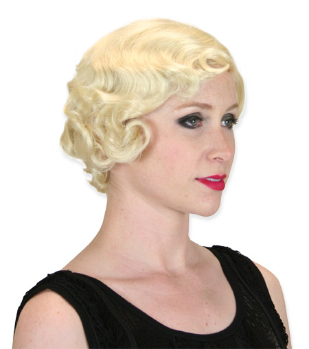 Such great Blonde flapper wig me