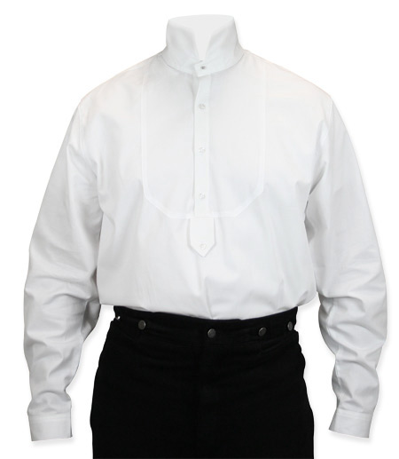 Excelsior dress shirt high collar for Mens high collar dress shirts