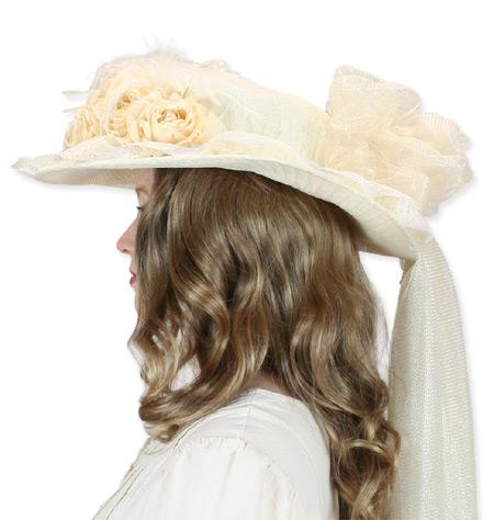 ecb97a2310d ... click to view click to view click to view 1800s Ladies Ivory Straw