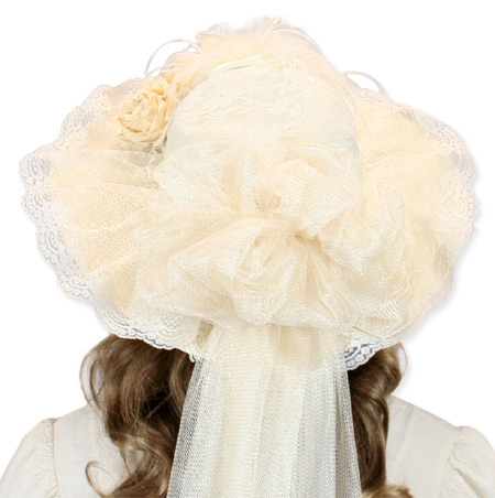f244a8f2c9c ... click to view 1800s Ladies Ivory Straw