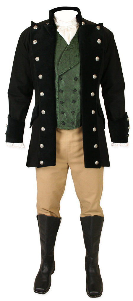 Versailles Coat Black Denim