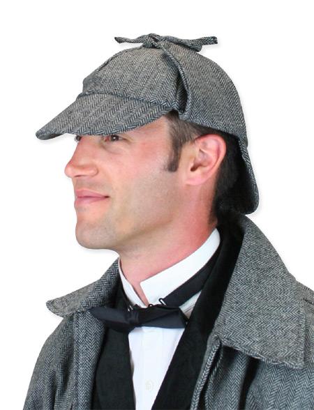 Baskerville Deerstalker Hat - Gray a2f6ecd15b7