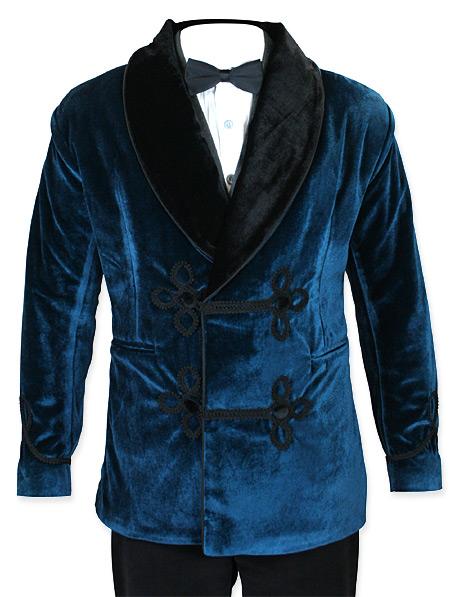 vintage velvet smoking jacket eBay