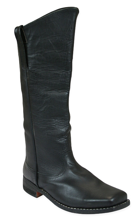2d87d12c3f53 Mens Cavalry Long Boot - Black Leather