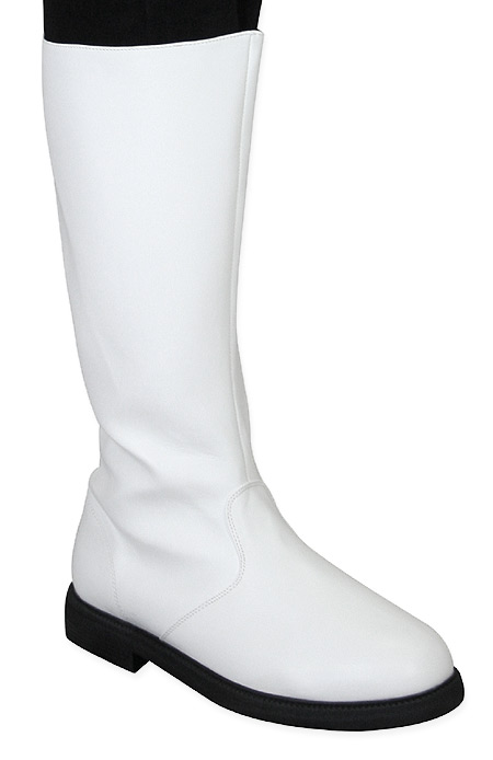Captains Mid-Calf Boot - White