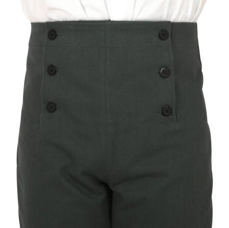 BPURB Steampunk Pants High Waist Victorian Mens Pants Trousers Cosplay Costume