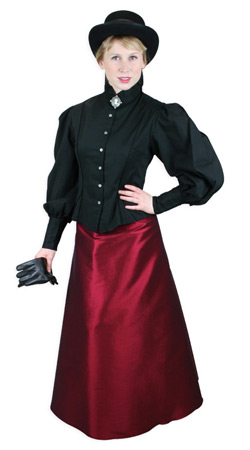 Ladies Old West Clothing At Historical Emporium