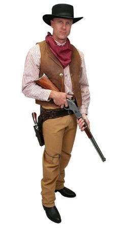 Old West Mens Outfits Gunslingers