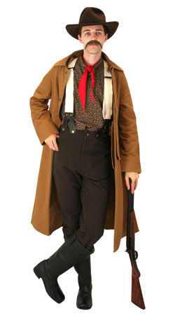 Old West, Mens Outfits,Quick Ship Outfits Gunslingers |Antique, Vintage, Old Fashioned, Wedding, Theatrical, Reenacting Costume |