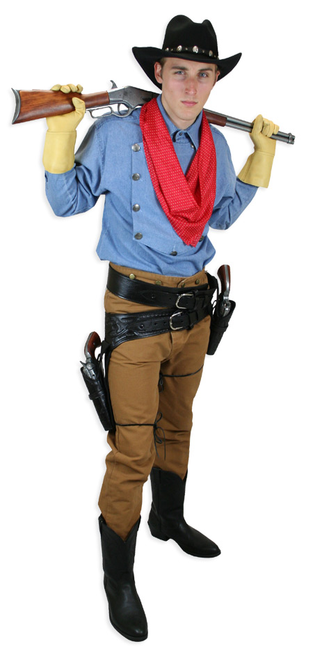 Adult western style costumes extra large sizes pity