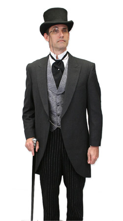 Historical Emporium -- Mens Late Victorian Clothing -- Robert Delaney, Financier