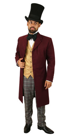 Victorian,Steampunk Mens Outfits Townspeople |Antique, Vintage, Old Fashioned, Wedding, Theatrical, Reenacting Costume |