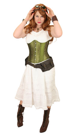 Victorian,Steampunk Ladies Outfits Adventurers |Antique, Vintage, Old Fashioned, Wedding, Theatrical, Reenacting Costume |