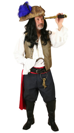 Pirate,Hollywood,Literary Mens Outfits,Quick Ship Outfits Villains |Antique, Vintage, Old Fashioned, Wedding, Theatrical, Reenacting Costume | Pirate,Famous Characters,Peter Pan