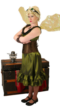 Steampunk,Hollywood,Literary Ladies Outfits Heroes |Antique, Vintage, Old Fashioned, Wedding, Theatrical, Reenacting Costume | Famous Characters,Cosplay,Peter Pan