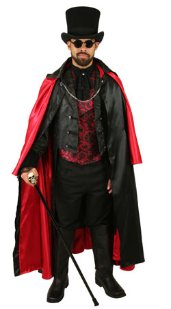 Regency,Victorian Mens Outfits Nobility,Villains,Vampires |Antique, Vintage, Old Fashioned, Wedding, Theatrical, Reenacting Costume | Vampire