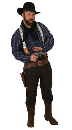 Old West Mens Outfits Frontier Folk,Townspeople |Antique, Vintage, Old Fashioned, Wedding, Theatrical, Reenacting Costume |