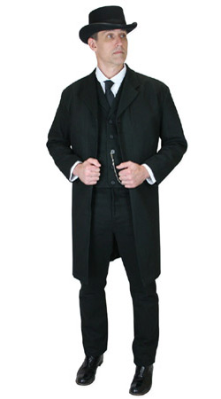 Gentlemans Emporium -- Mens Regency Clothing -- Albert Markwood, Undertaker