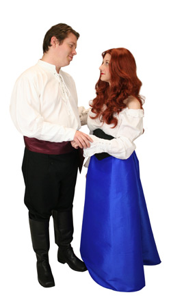 Hollywood,Literary Group Outfits Heroes,Nobility |Antique, Vintage, Old Fashioned, Wedding, Theatrical, Reenacting Costume | Mermaid and Prince,Famous Characters
