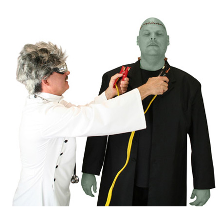 Hollywood,Literary Group Outfits Scientists,Villains |Antique, Vintage, Old Fashioned, Wedding, Theatrical, Reenacting Costume | Frankenstein,Famous Characters