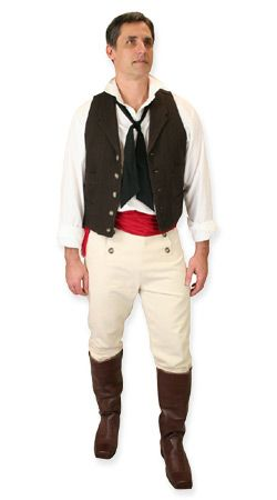 Historical Emporium -- Mens Regency Clothing -- Jean VJ, Activist