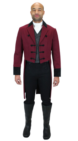 Historical Emporium -- Mens Regency Clothing -- John Argenbright, Regency Gentleman
