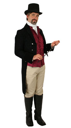 Regency, Mens Outfits Professionals |Antique, Vintage, Old Fashioned, Wedding, Theatrical, Reenacting Costume |