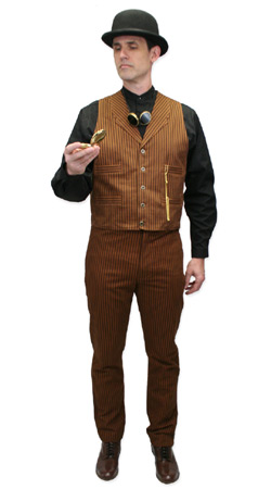 Victorian,Steampunk Mens Outfits Townspeople,Motorists |Antique, Vintage, Old Fashioned, Wedding, Theatrical, Reenacting Costume |