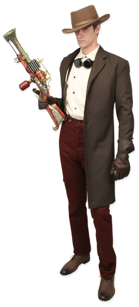 Gallery For gt Mens Steampunk Costume