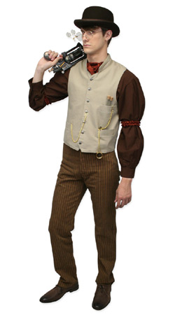 Mens Steampunk Outfits At Emporium