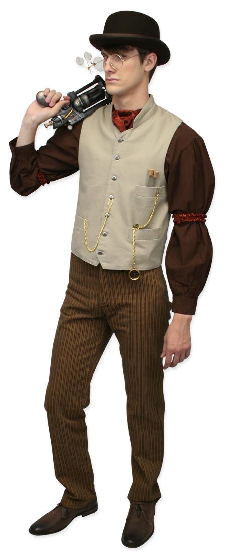 d18667463a Steampunk, Mens Outfits,Quick Ship Outfits Scientists,Adventurers |Antique,  Vintage,. Bryson Feldspar ...