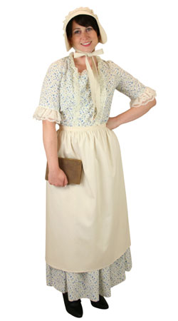 Victorian, Ladies Outfits Frontier Folk,Townspeople |Antique, Vintage, Old Fashioned, Wedding, Theatrical, Reenacting Costume |