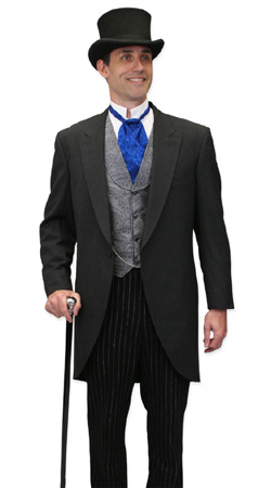 Victorian, Mens Outfits Professionals,Tycoons |Antique, Vintage, Old Fashioned, Wedding, Theatrical, Reenacting Costume |