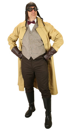 Victorian,Edwardian Mens Outfits Adventurers |Antique, Vintage, Old Fashioned, Wedding, Theatrical, Reenacting Costume | Vintage Auto,Adventurer