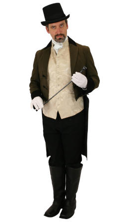 Historical Emporium -- Mens Regency Clothing -- Graydon Wentworth, Rep. East India Trading