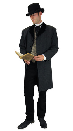 Gentlemans Emporium -- Mens Regency Clothing -- Gustav Wagner, Schoolmaster