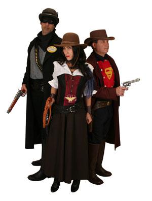 old west superheroes