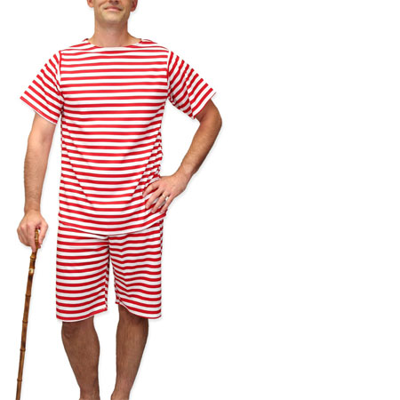 Mens Old Fashioned Swimwear
