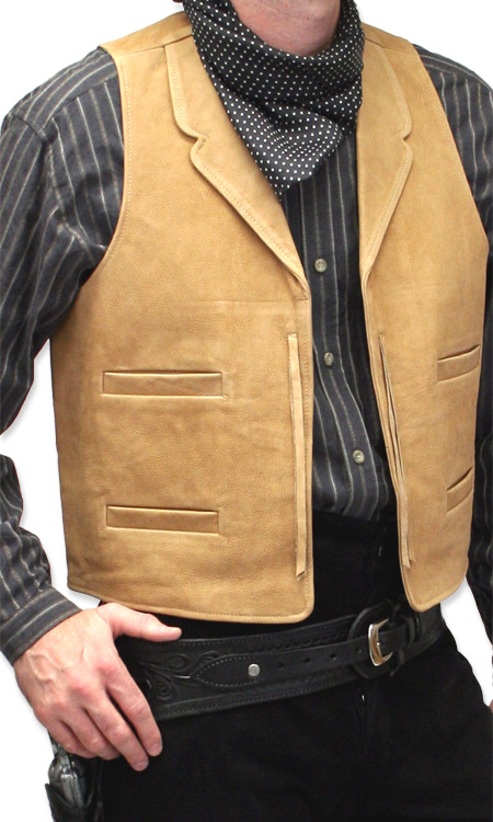 Old clothes western for men