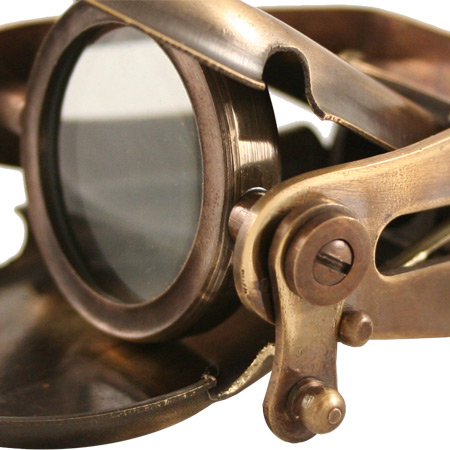 Brass Steampunk Gadgets and Accessories