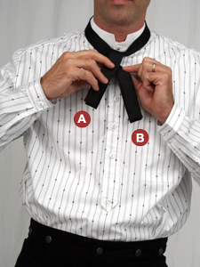 How to Tie a String Tie