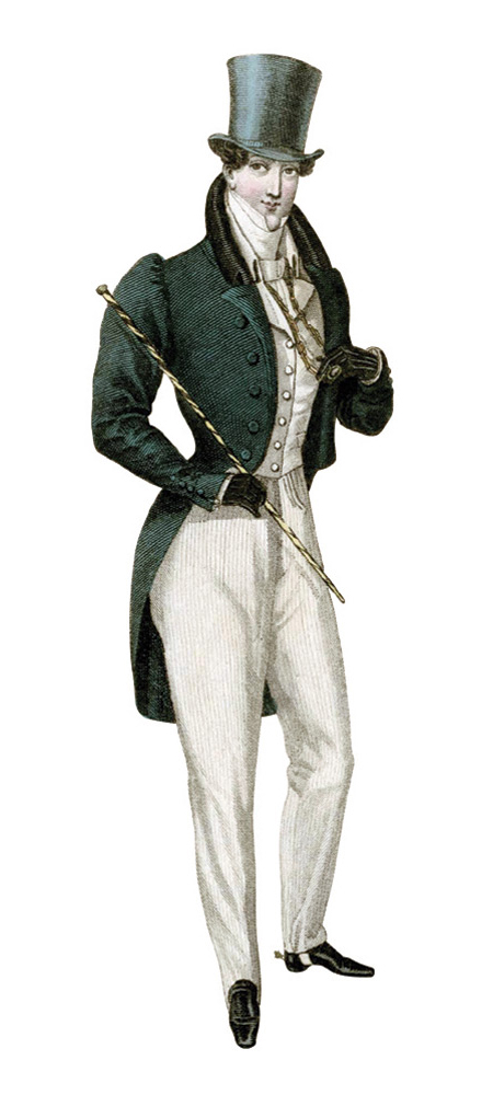 Victorian Clothing for Men (PHOTOS ) - Victoriana Magazine Regency fashions for men