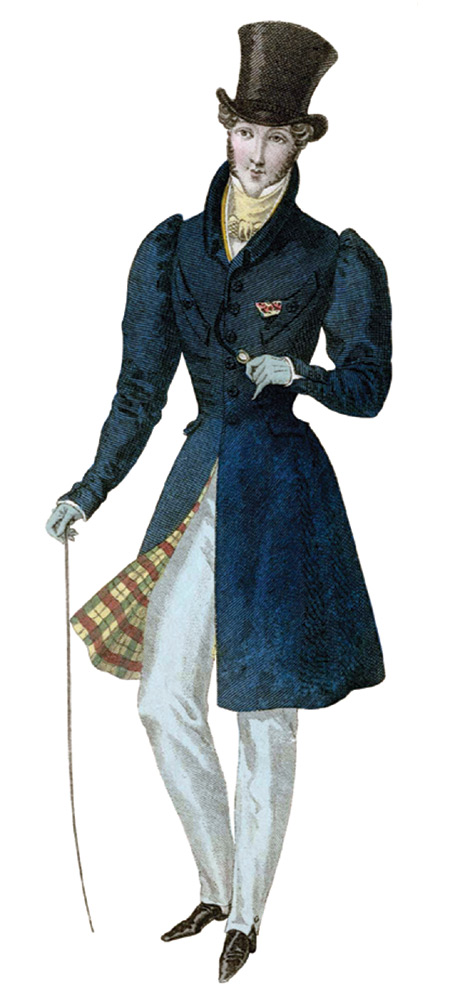 Regency fashions for men Cached