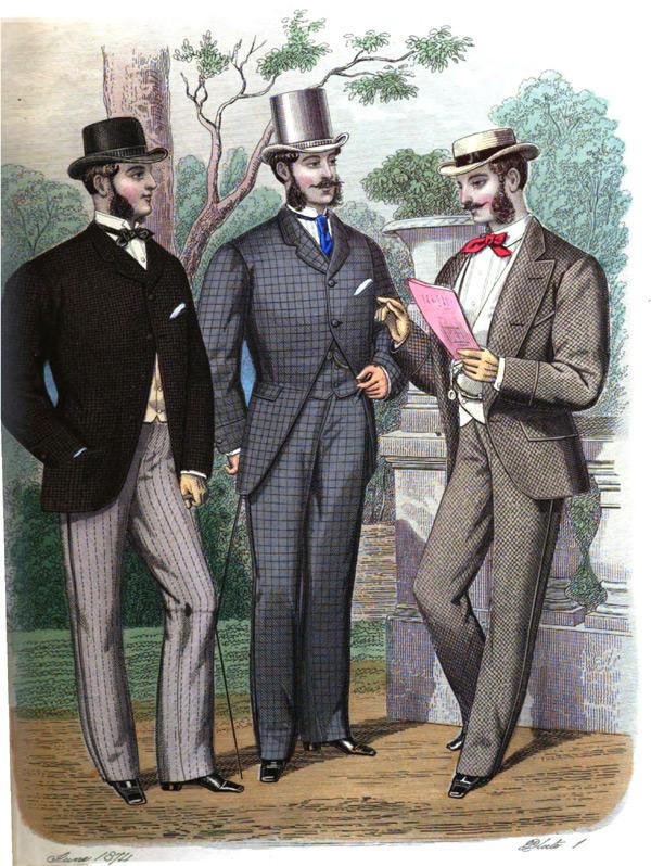 late victorian fashion men - photo #15