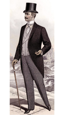 Late Victorian Male Fashion